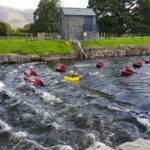 Hydrospeeding in Keswick, the Lake District