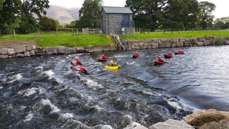 Hydrospeeding in Keswick, the Lake District