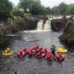 Hydrospeeding on the River Tees