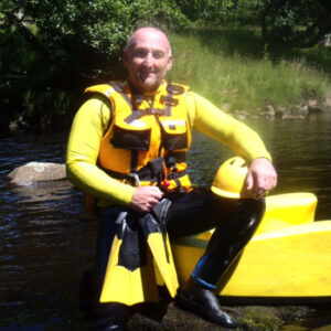 Lee Simpson, Founder and Instructor of Hydrospeeding UK